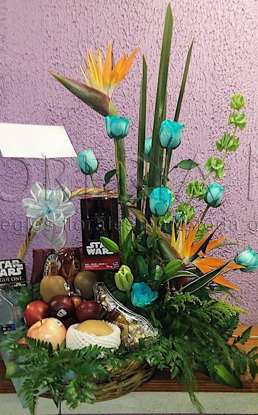 Arreglos Florales Con Frutas Y Peluches En Coyoacan Con
